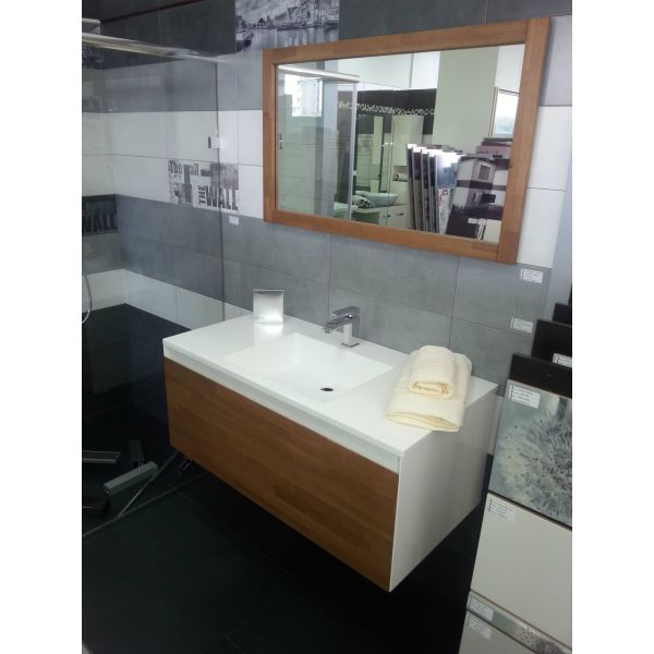 Долен шкаф за баня Natura, 100см