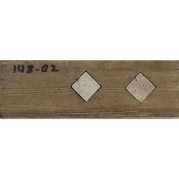 Фриз за баня Тисот мадера, 5 х 15см, лв/бр