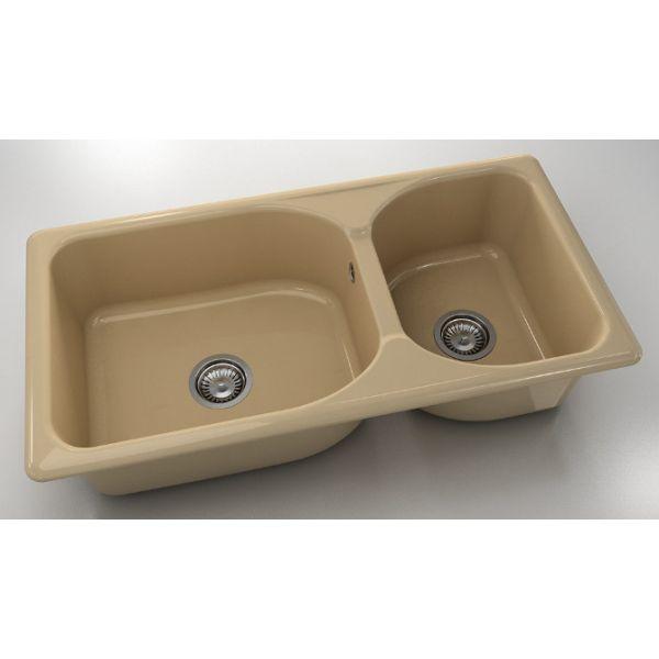 Кухненска мивка FAT 214, полимермрамор