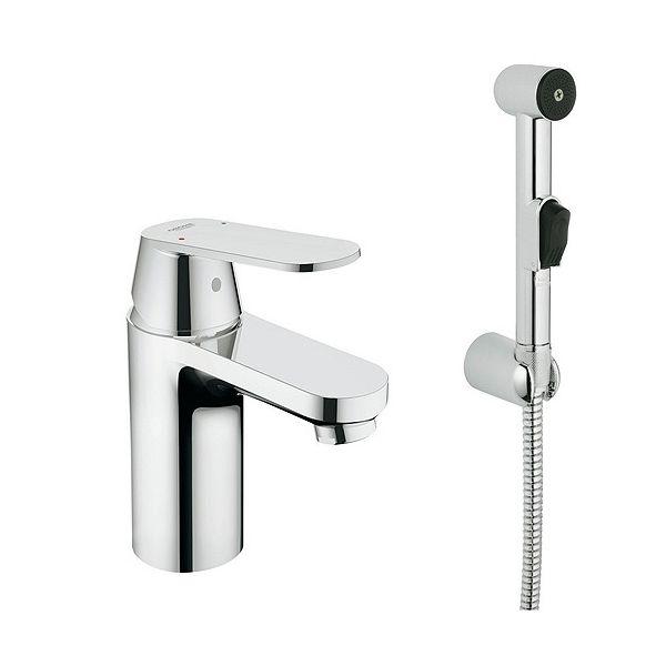 GROHE EUROSMART COSMOPOLITAN смесител за мивка с хигиенен душ