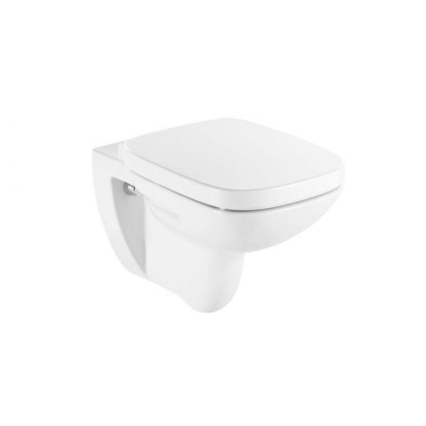 ROCA Debba конзолна тоалетна чиния седалка със забавено падане