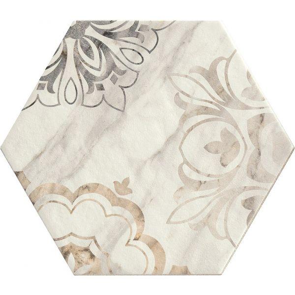 Гранитогрес Бистрот Калаката Микеланджело декор, 21х18,2см, лв/м2