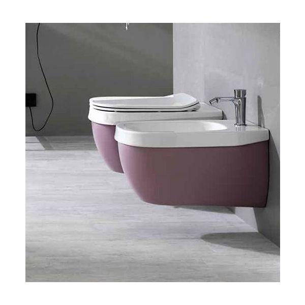 Конзолна тоалетна чиния HATRIA Abito Old Rose , 56см