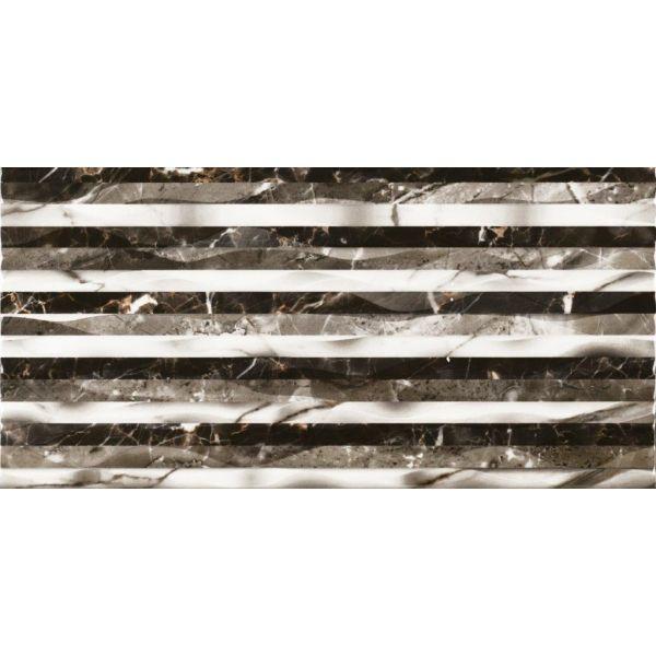 Плочки за баня Богаси Блек, 30 х 60см, лв/м2