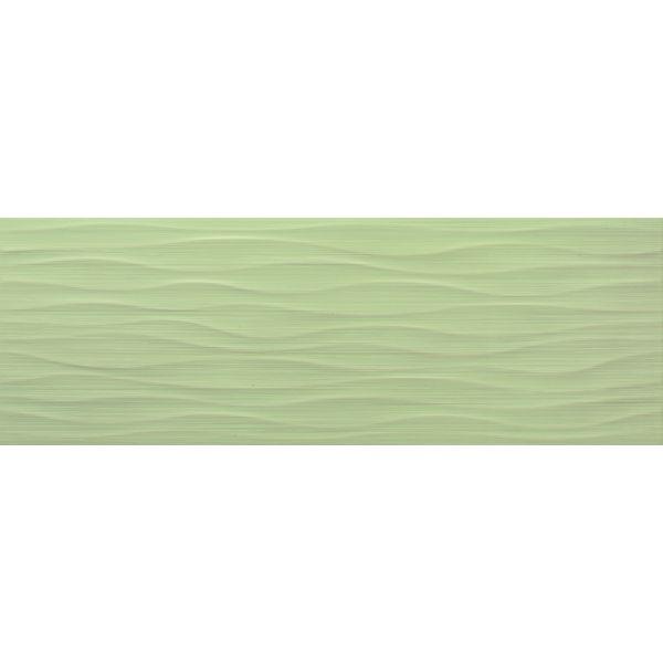 Плочки за баня Бразил есмералда ондас мат, 25х73см, лв/м2