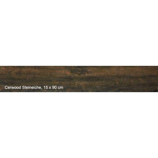Гранитогрес Cerwood Steineiche, 15х90см, лв/м2