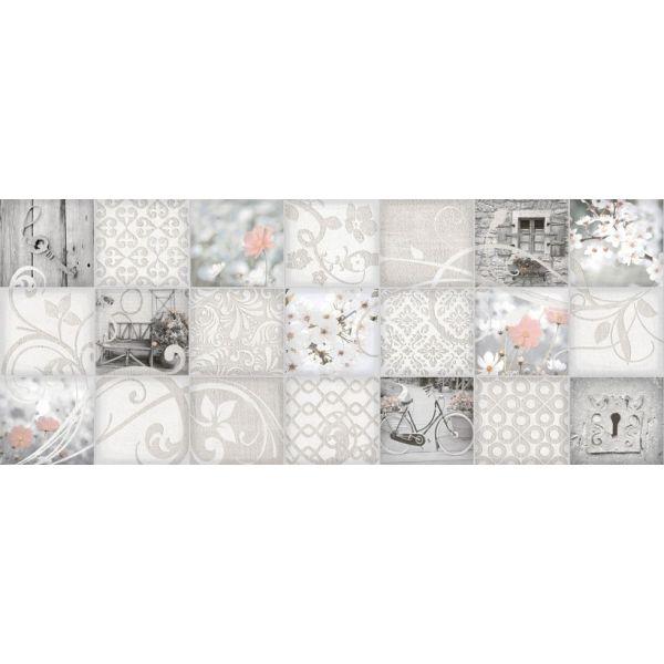 Плочки за баня Клей мозайко микс, 20х50см, лв/м2
