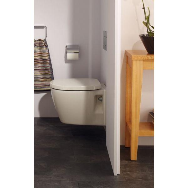 IDEAL STANDARD Connect конзолна тоалетна чиния, седалка с плавно затваряне