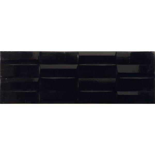 Плочки за баня Куул блек правоъгълници, 25х73см, лв/м2