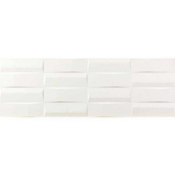 Плочки за баня Куул бланко правоъгълници, 25х73см, лв/м2