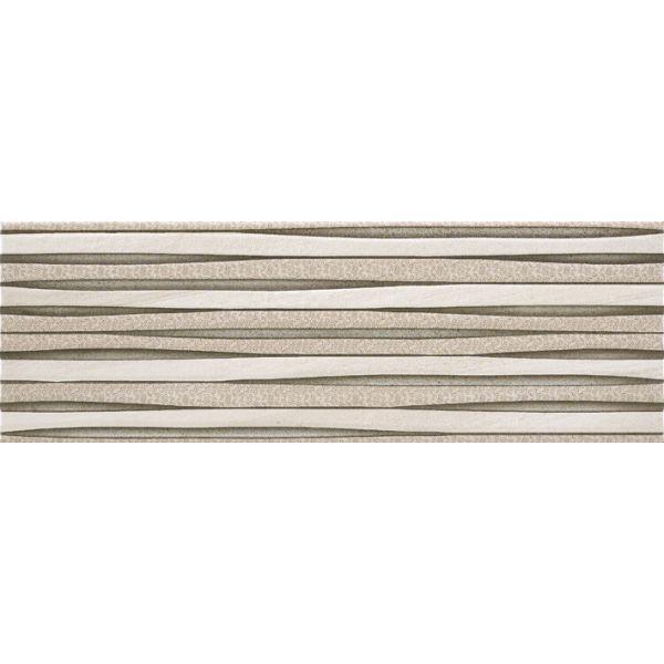 Плочки за баня Бърлингтан крема декор 2, 20х60см, лв/м2
