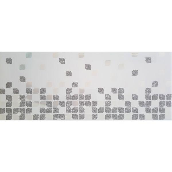 Декор за баня Франсе антрацит, 20х50см, лв/бр