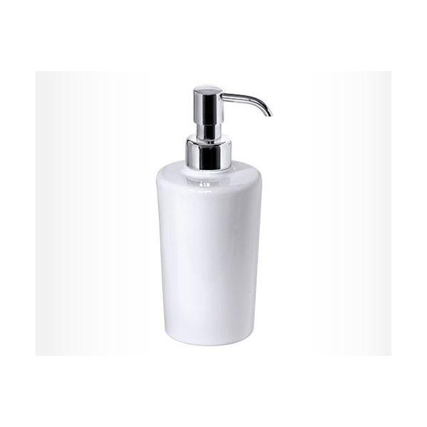 DENDRA дозатор за течен сапун, порцеланов, овал