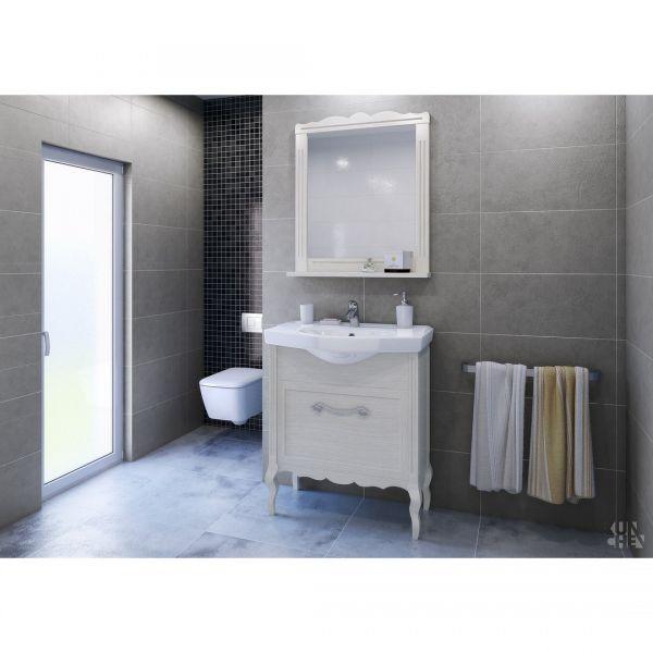 Комплект мебели за баня Диана 78, масив