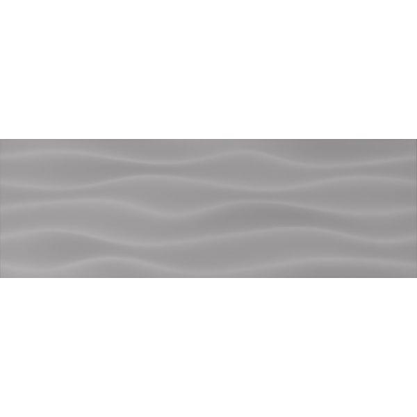 Плочки за баня Динамик графито ондас, 20х60см, лв/м2