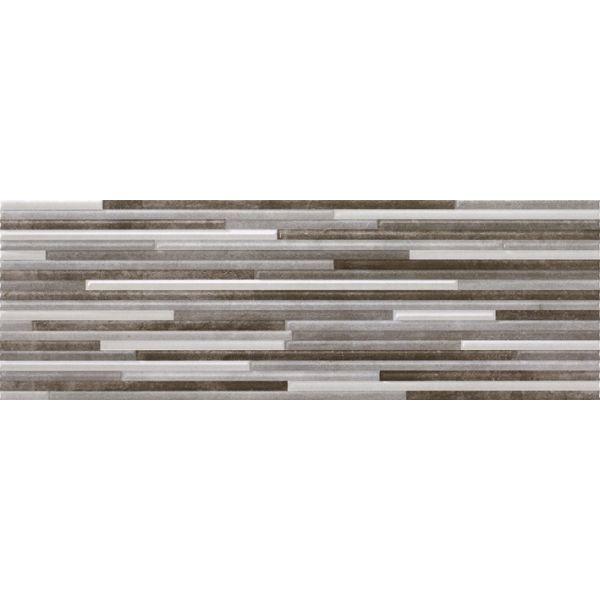 Плочки за баня Динамик 2 декор грей, 20х60см, лв/м2