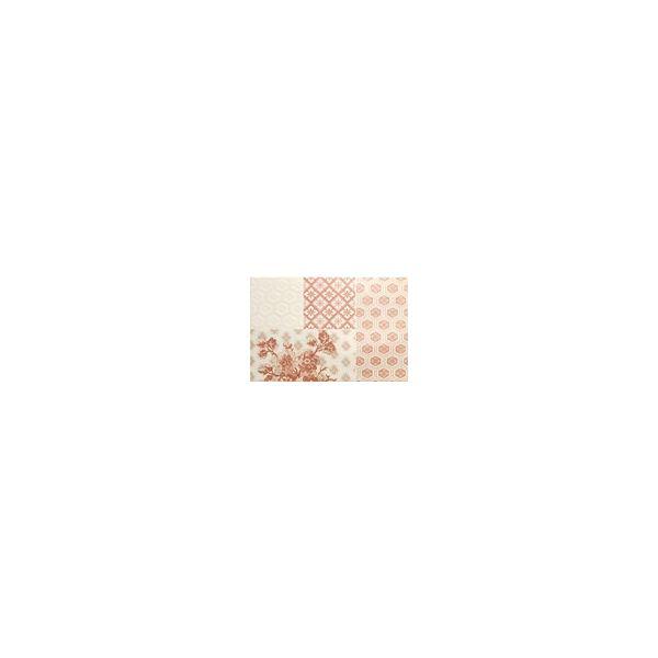 Декор за баня Енерджи Кимоно Аворио, к-т 2ч-ти, 50х38см, лв/бр