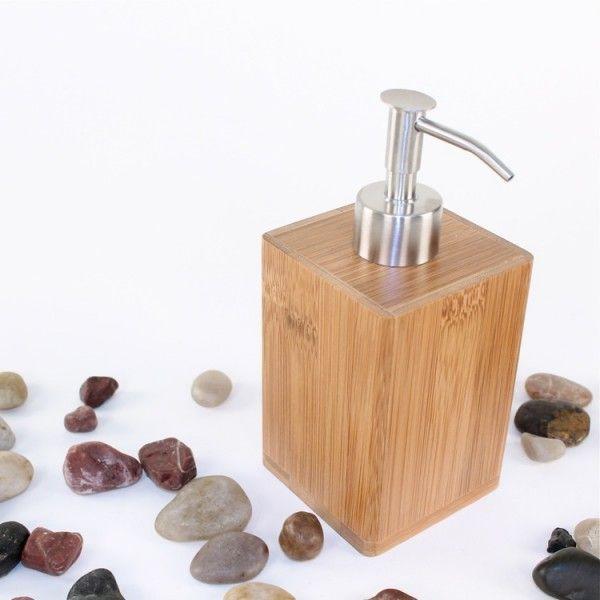 BAMBU диспенсър за течен сапун от естествен бамбук