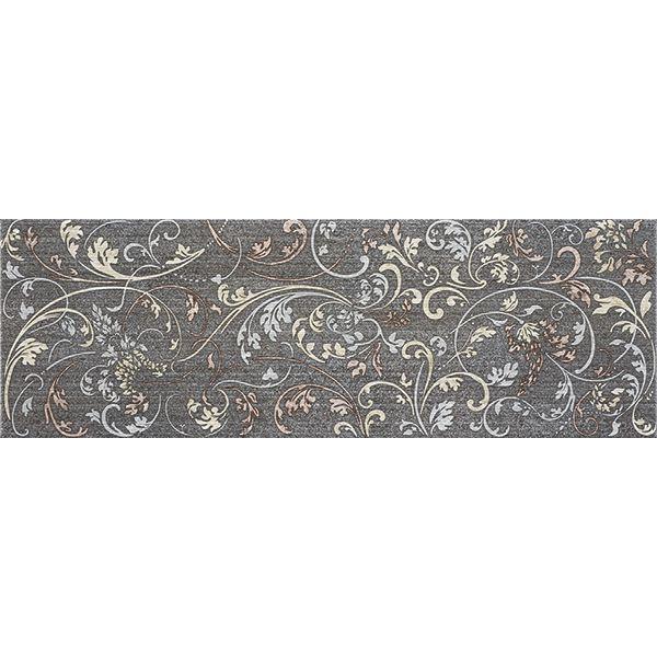 Декор за баня Хабитат графито 2, 20х60см, лв/м2