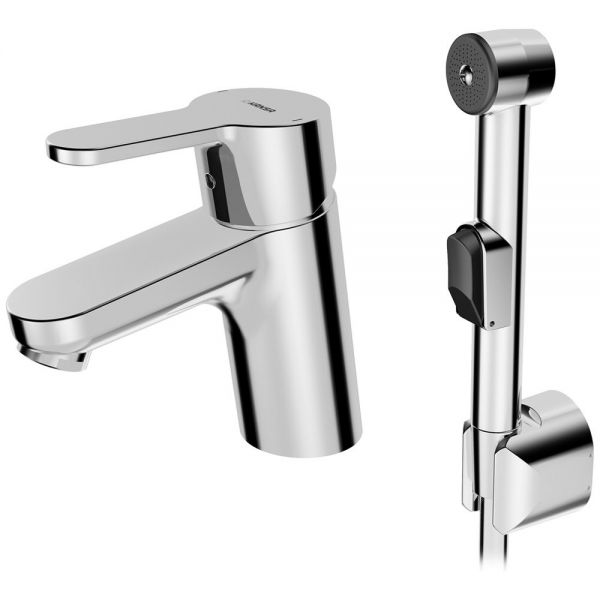 HANSA Primo bidetta смесител за умивалник с хигиенен душ