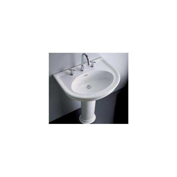 Мивка за баня HATRIA Dolcevita 70 с пиадестал