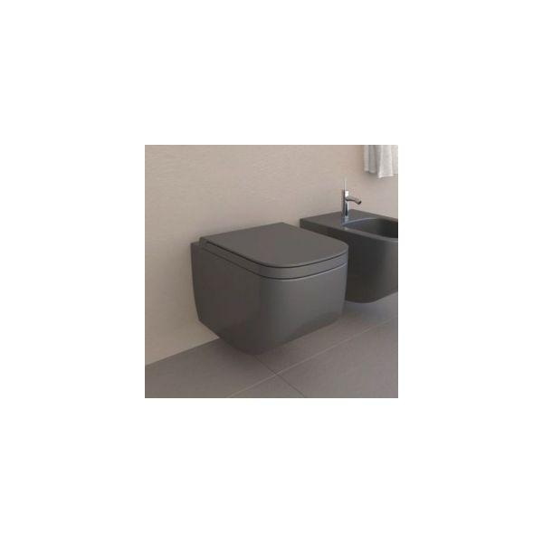 Конзолна тоалетна чиния HATRIA Next Antracite 56