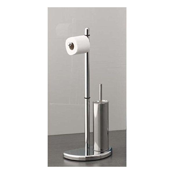 GEDY комбиниран държач за тоалетна хартия и четка за тоалетна