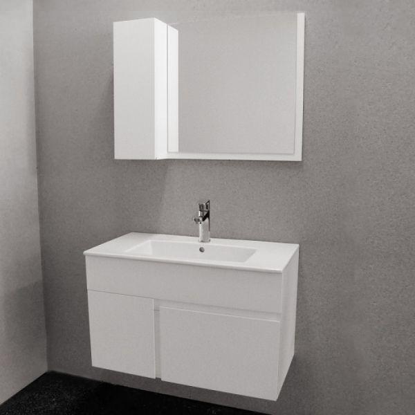Шкаф за баня Optima Kara, 80см