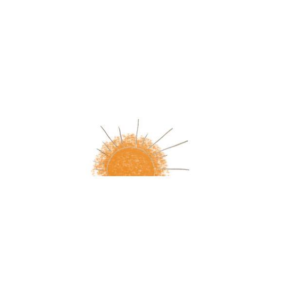 Декор за баня Слънце 1, 25х50см, лв/бр