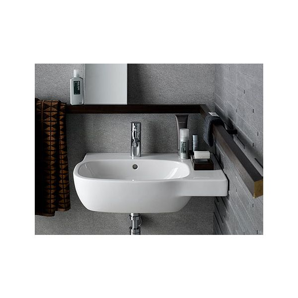 KOLO STYLE, асиметрична мивка, дясна, 45см