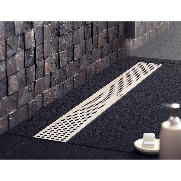 Quadric, линеен подов сифон 585мм