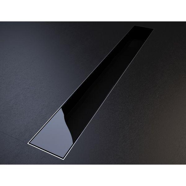 Glass, линеен подов сифон 585мм