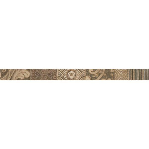 Фриз за баня Пешън алмонд, 4,5 х 60см, лв/бр