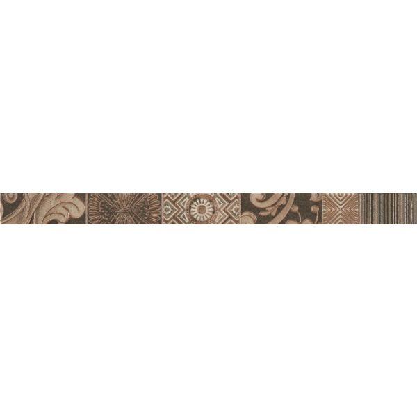 Фриз за баня Пешън смоук, 4,5 х 60см, лв/бр