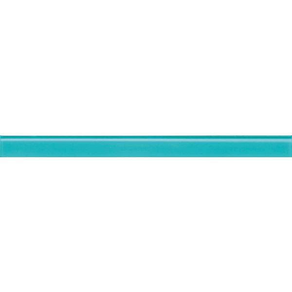 Стъклена пура блу, 4,5х59,8см, лв/бр
