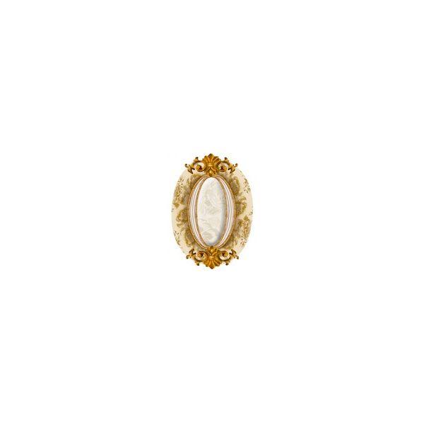 Декорен елемент Нерон  лукшъри марфил, 10х14см, лв/бр