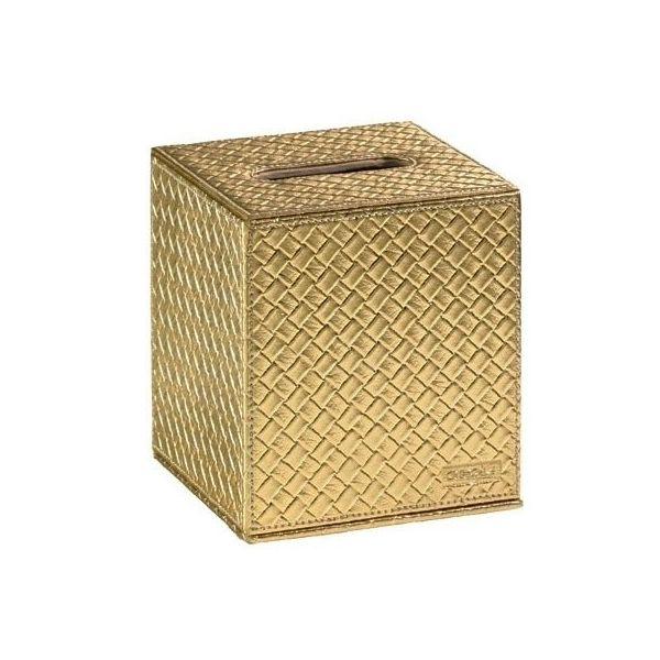 MARAKECH Gold  кутия за кърпи, малка