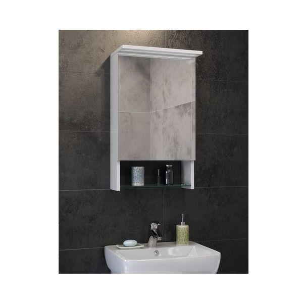 Горен шкаф за баня Лора, 42см