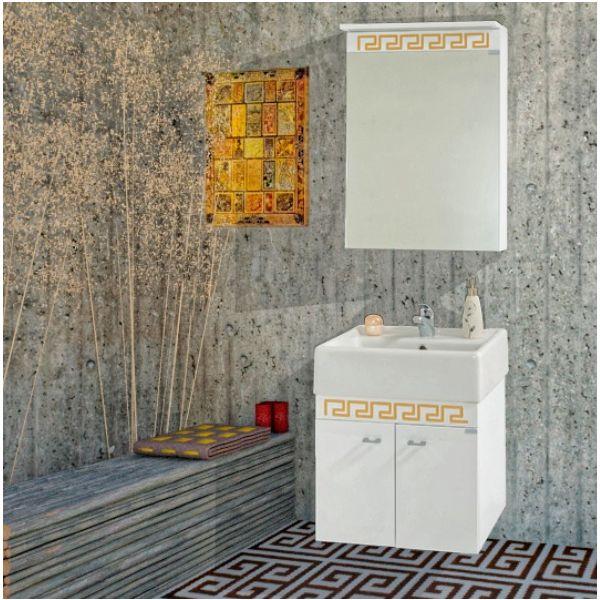 Комплект мебели за баня Призма, 50см