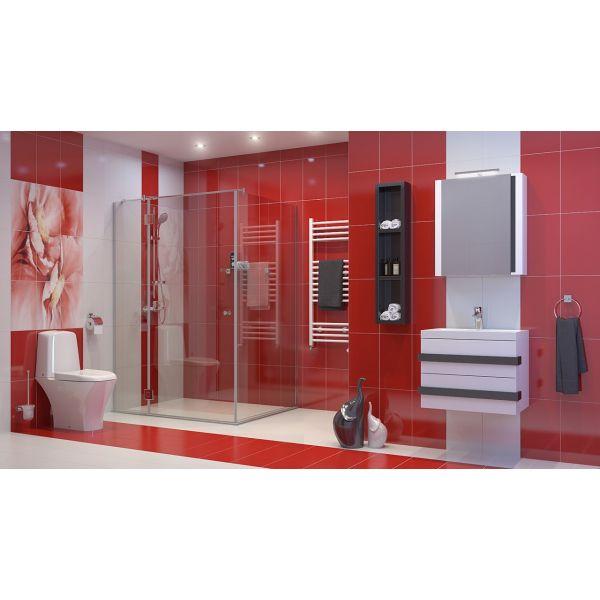 Комплект мебели за баня ОМЕГА, долен и горен шкаф