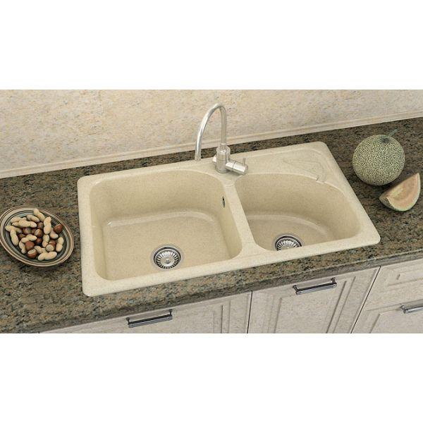 Кухненска мивка FAT 204, полимермрамор