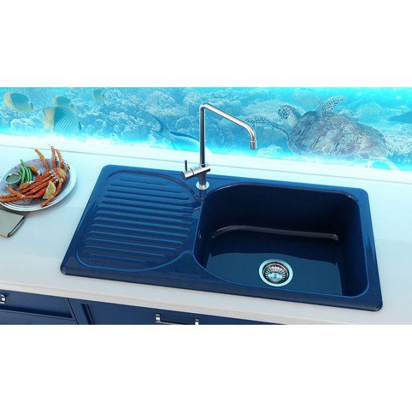 Кухненска мивка FAT 212, полимермрамор