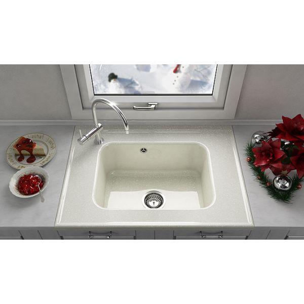 Кухненска мивка FAT 219, полимермрамор
