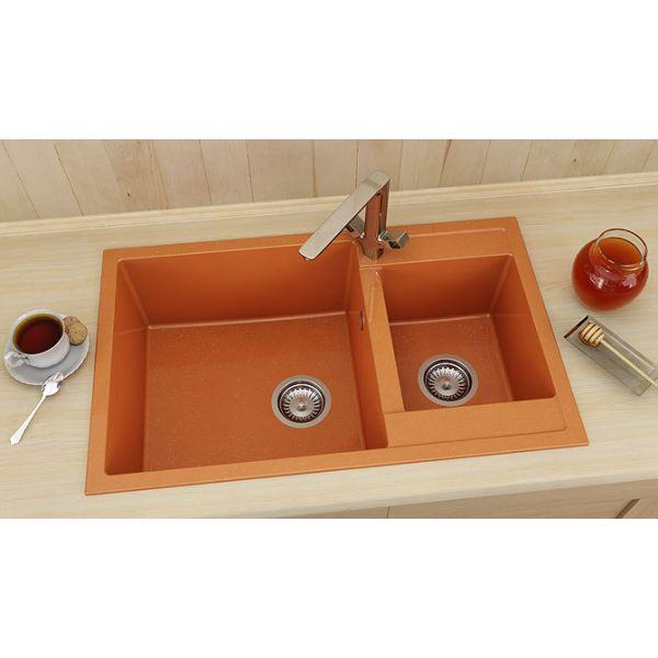 Кухненска мивка FAT 233, полимермрамор