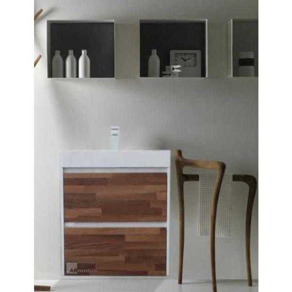 Долен шкаф за баня Natura 60см, 2 чекмеджета