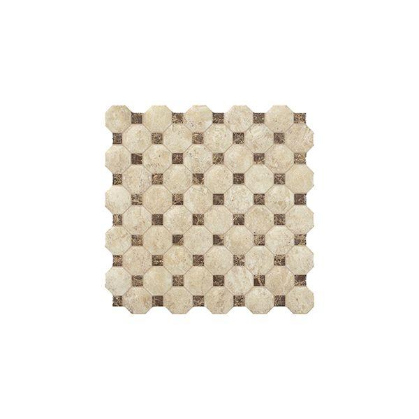 Декор за баня Нерон брик марфил, 31,6х31,6см, лв/м2