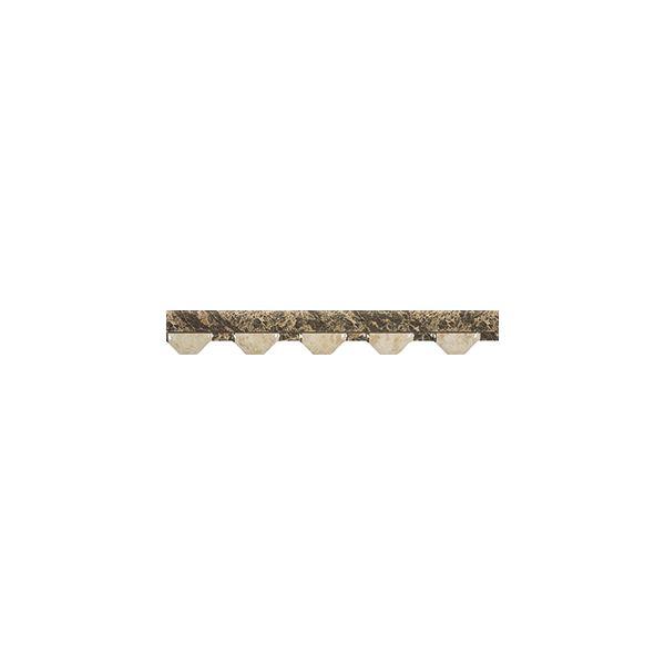 Молдура Нерон брик марфил, 3,5х31,6см, лв/бр