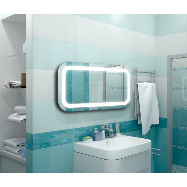 Oгледало с LED осветление SM-09, 80 х 80см