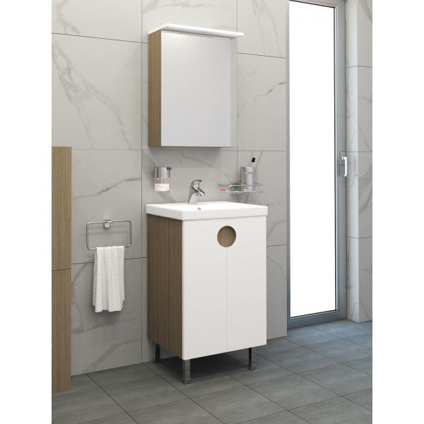 Горен шкаф за баня Оля 50см