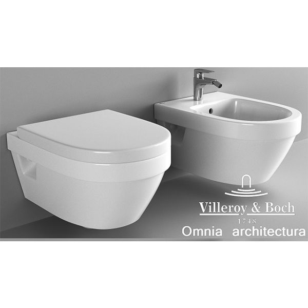 Конзолно биде Villeroy & Boch Omnia Architectura
